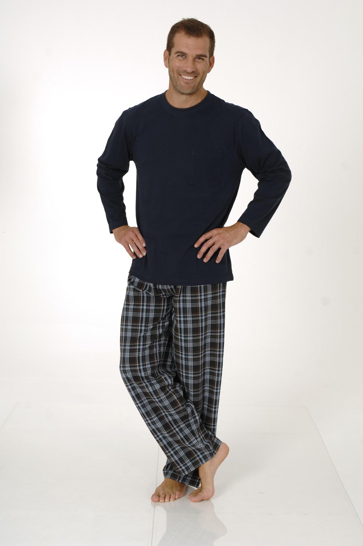 herren pyjama mix match schlafanzug hose gewebt. Black Bedroom Furniture Sets. Home Design Ideas